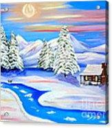 Sparkling Winter Acrylic Print