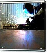 Sparks Acrylic Print