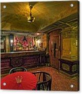 Speakeasy Club -- Butte Montana Acrylic Print