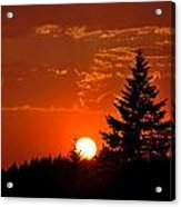 Spectacular Sunset II Acrylic Print