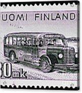 Speedy Old Bus Acrylic Print