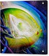 Sphere Qf70 Acrylic Print by Drazen Pavlovic