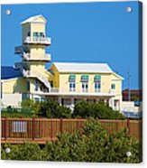 Spi Birding Center From The Boardwalk Acrylic Print