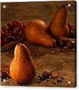Spiced Pears Acrylic Print