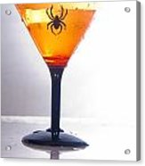 Spider Martini Acrylic Print