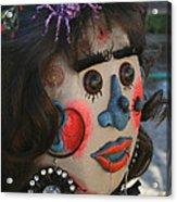 Spiderwoman Scarecrow Acrylic Print