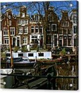 Spiegelgracht 28. Amsterdam Acrylic Print