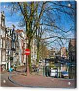Spiegelgracht 36. Amsterdam Acrylic Print