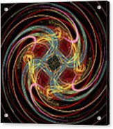 Spin Fractal Acrylic Print