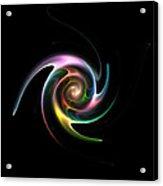 Spinning Galaxy Acrylic Print by Steve K