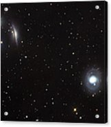 Spiral Galaxies Ngc 1068 And Ngc 1055 Acrylic Print
