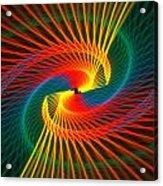 Spiral Rainbow  Acrylic Print