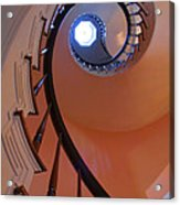 Spiral Stairway Acrylic Print by Steven Ainsworth