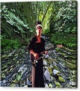 Spirit Creek Rushing 2 Acrylic Print