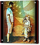 Spirit Of Freedom - Soldier And Son Acrylic Print