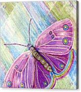Spiritual Butterfly Acrylic Print
