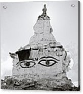 Spirituality In The Himalayas Acrylic Print