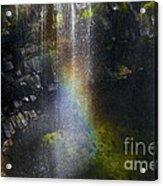 Splash Pool Acrylic Print