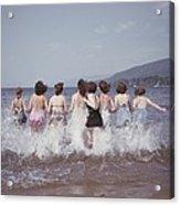 Splashing Into Lake George Acrylic Print