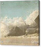 Splashing Wave Acrylic Print