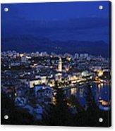 Split Croatia Acrylic Print