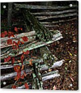 Split Rail Fence Acrylic Print