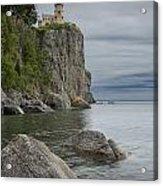 Split Rock Lighthouse In Northern Minnesota Acrylic Print