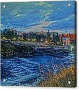 Spokane Falls  From Howard St Bridge Acrylic Print