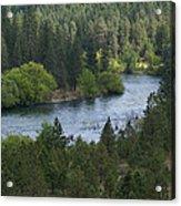 Spokane River Scene 2 Acrylic Print