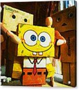 Spongebob Always Loves The Group Hugs Acrylic Print