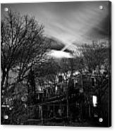 Spooky Night Acrylic Print by Ken Stachnik