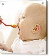 Spoon-feeding Acrylic Print