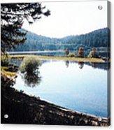 Spooner Lake Shadows Acrylic Print