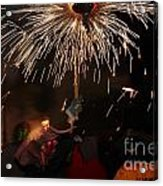 Spray Of Sparks Acrylic Print