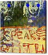 Spread Truth Angels Acrylic Print