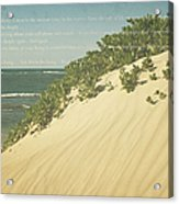 Sprecks - The Dunes Acrylic Print