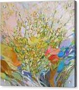 Spring - Square Painting Acrylic Print