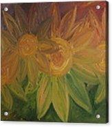 Spring Bloom Acrylic Print by Shadrach Ensor