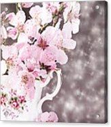 Spring Blossom Acrylic Print by Amanda Elwell