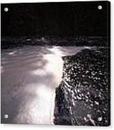 Spring Flood Foam Bath Acrylic Print
