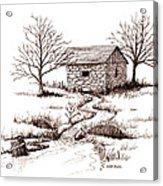 Spring House Acrylic Print