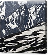 Spring In Alaska Mountains Acrylic Print by Michael S. Quinton