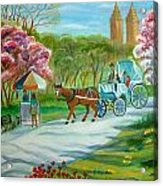Spring In New York Acrylic Print