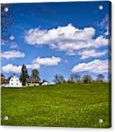 Spring In Shaker Village Acrylic Print