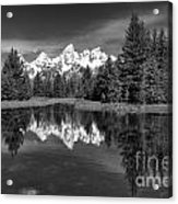 Spring In The Tetons Acrylic Print