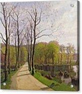 Spring Landscape Acrylic Print