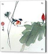 Spring Melody Acrylic Print