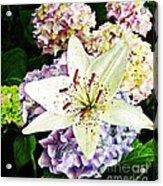 Spring Pastels  Acrylic Print
