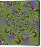Spring Spiral. Acrylic Print