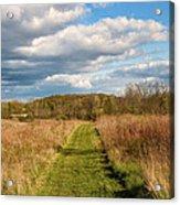 Spring's Mowed Path Acrylic Print